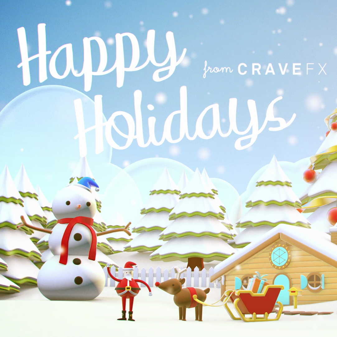 Happy Holidays from CraveFX