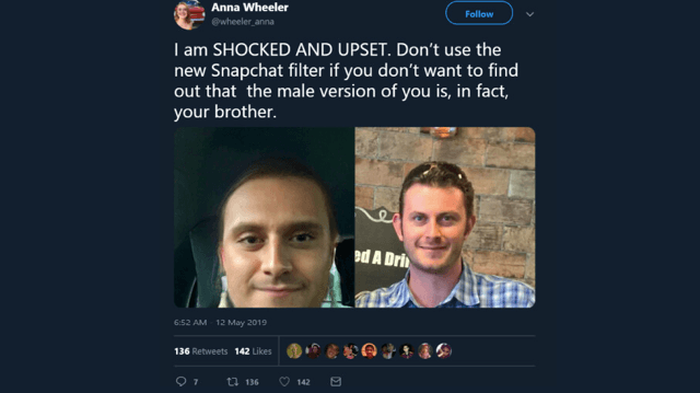 Snapchat's Gender-Swap Filter: Is Your Identity In Question?