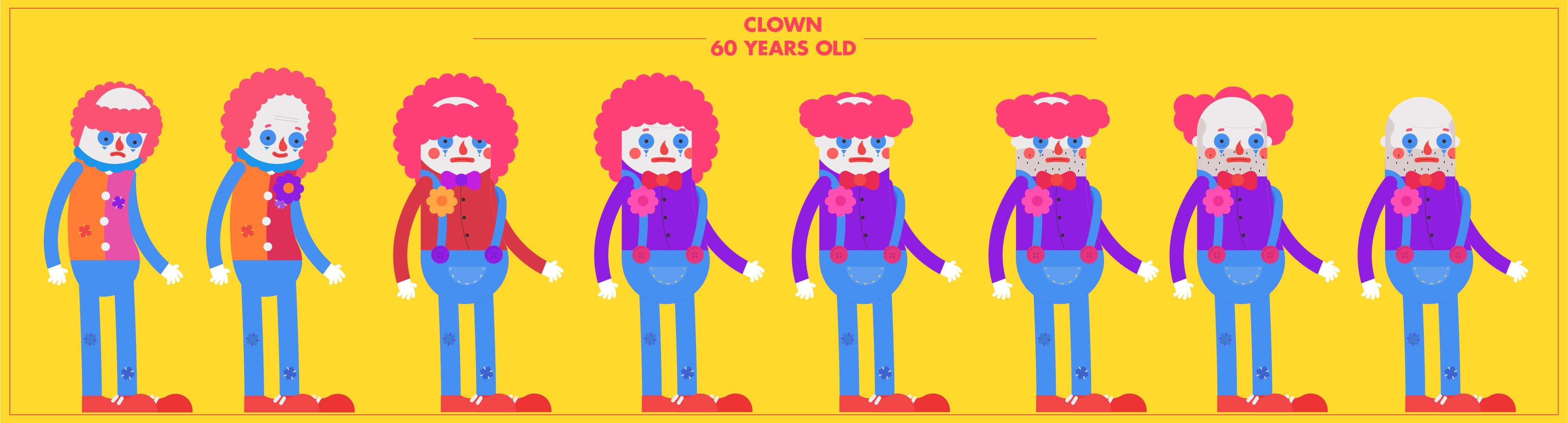 A Brief's History of Time - Clown