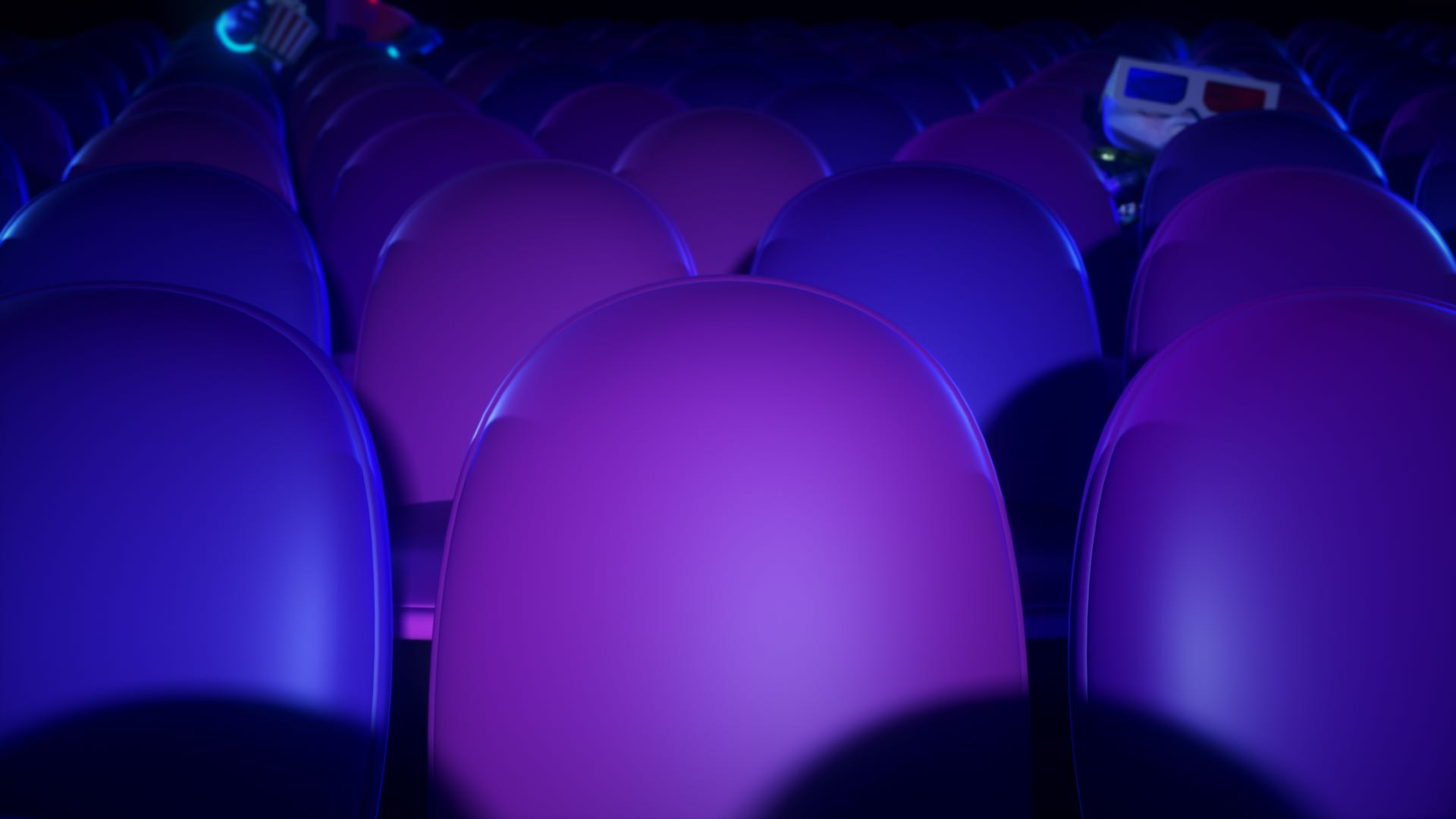 Theatre Seats Zoom Background