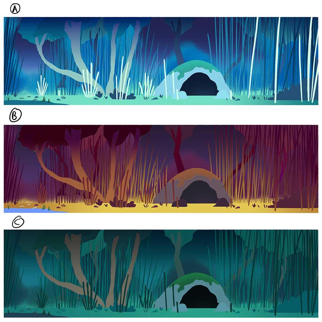 3D-Animation-PandaHouse-Forest-1